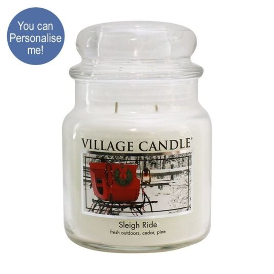 Sleigh Ride Medium 16oz Jar Candle