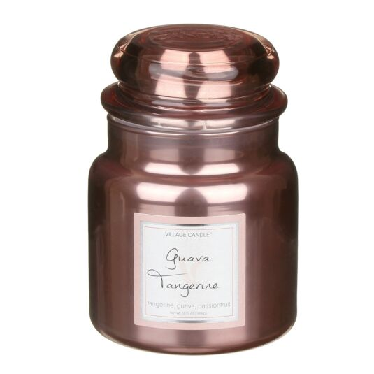 Guava Tangerine 16fl.oz Metallic Jar Candle