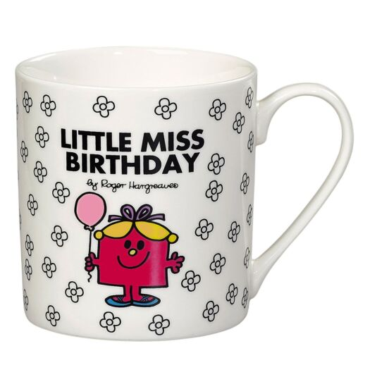 Little Miss Birthday Floral Boxed Mug