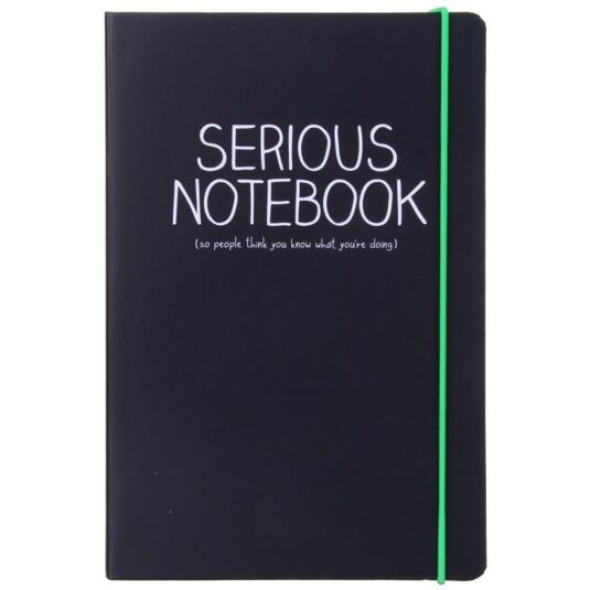 Serious A5 Notebook