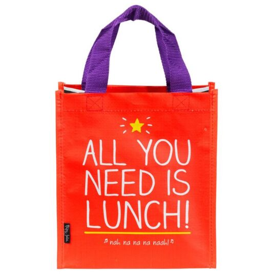 All You Need Is Lunch Tote Bag