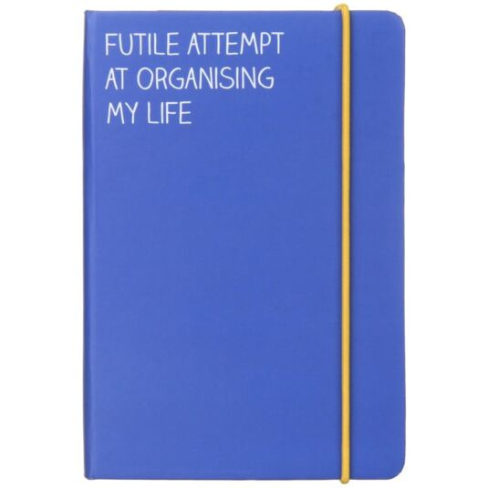 Futile Attempt A6 Notebook