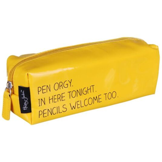 Pen Orgy Vinyl Pencil Case