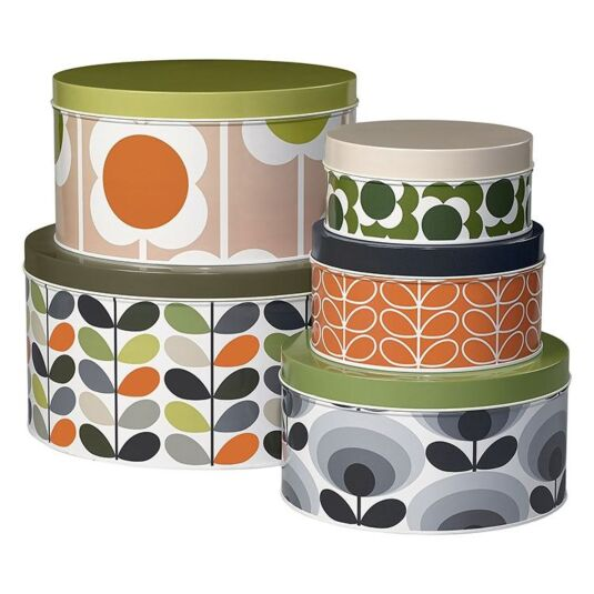 Stem Boxed Set of 5 Cake Tins