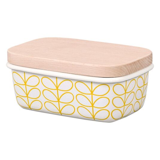 Linear Stem Sunshine Butter Dish