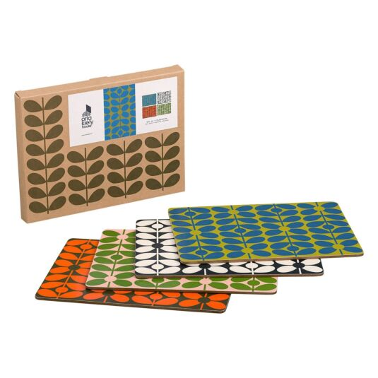 60s Stem Placemats - Set of 4