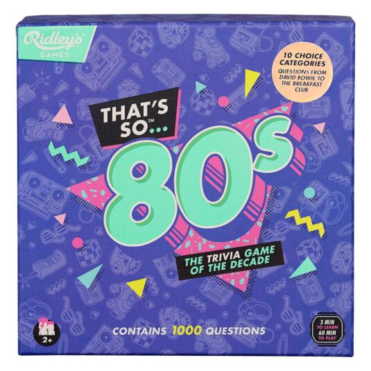 Ridley's Games – That's So 80s