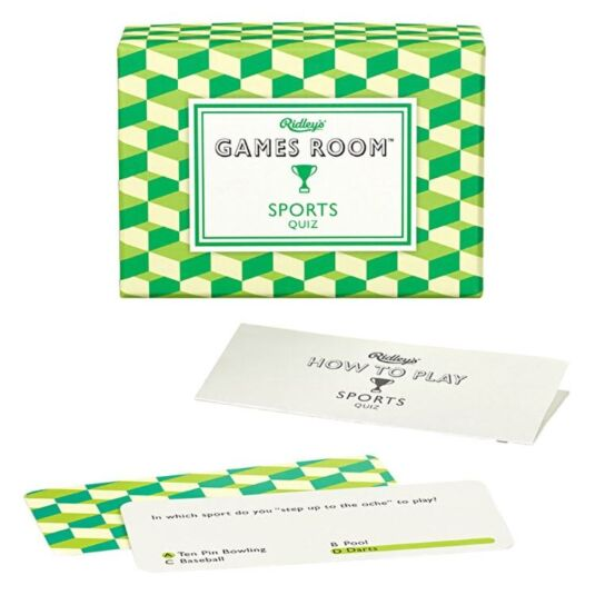 Ridley's Games Room - Sports Quiz