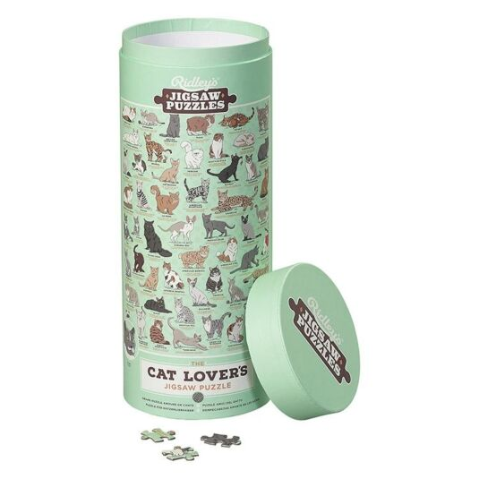 Ridley's Cat Lover's 1000 Pieces Jigsaw Puzzle