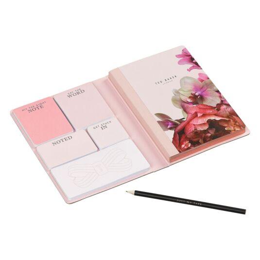 f7abdbce8042 Ted Baker Splendour A5 Notebook with Sticky Notes