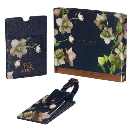 Arboretum Luggage Tag and Passport Holder Set