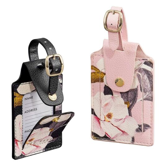 buy factory outlet pretty nice Ted Baker Opal Set of 2 Luggage Tags | Temptation Gifts