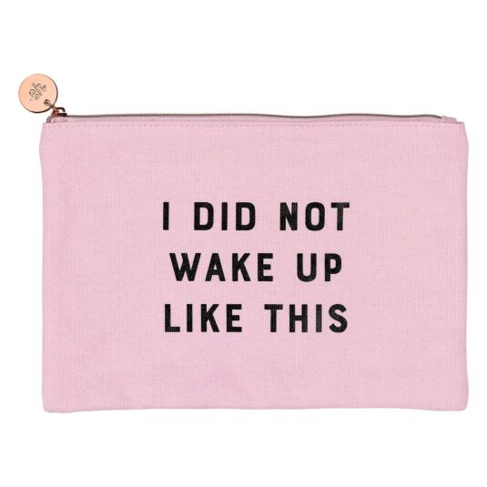 Yes Studio 'I Did Not' Make Up Pouch