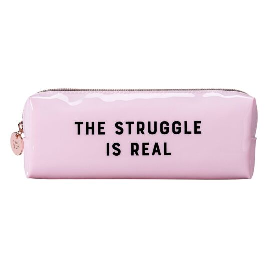 Yes Studio 'The Struggle Is Real' Box Pencil Case