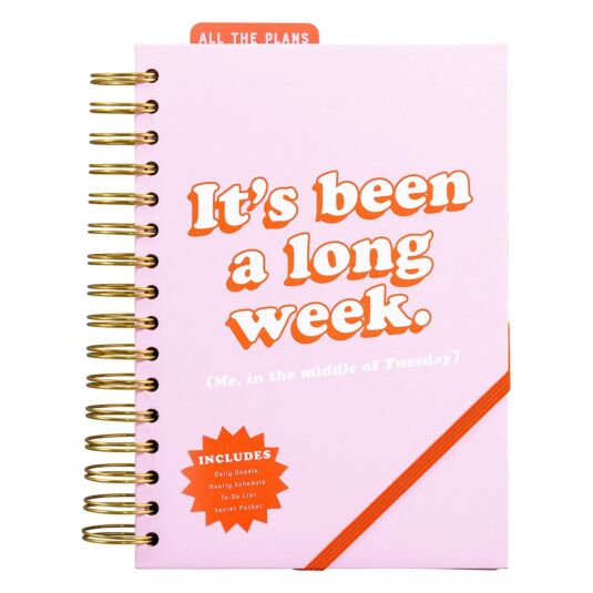 Yes Studio 'It's Been A Long Week' Power Planner