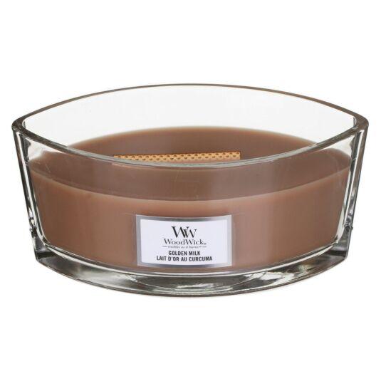 Golden Milk Hearthwick Ellipse Candle