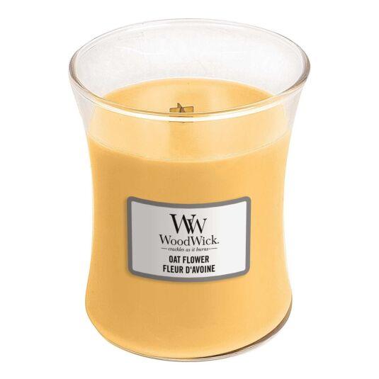 Oat Flower Medium Hourglass Candle