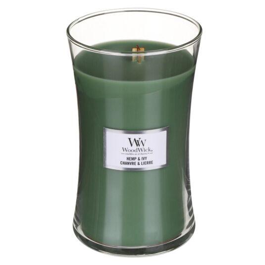 Hemp & Ivy Large Hourglass Candle