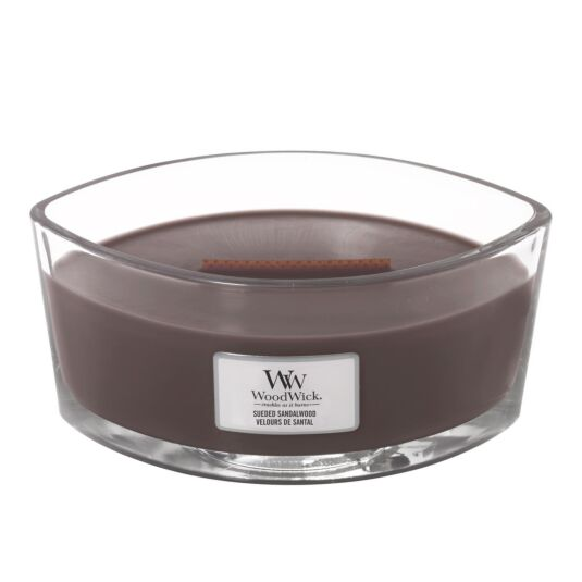 Sueded Sandalwood Hearthwick Ellipse Candle