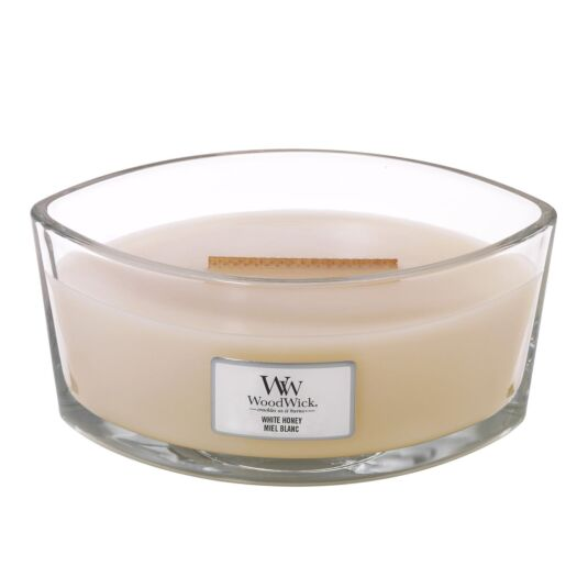 White Honey Hearthwick Ellipse Candle