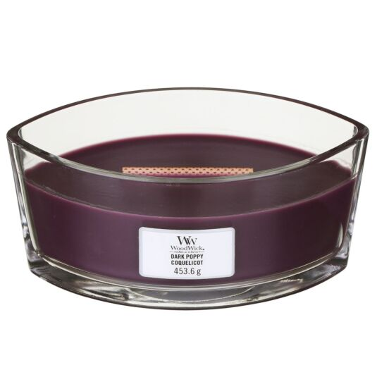 Dark Poppy Hearthwick Ellipse Candle