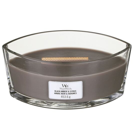 Black Amber & Citrus Hearthwick Ellipse Candle