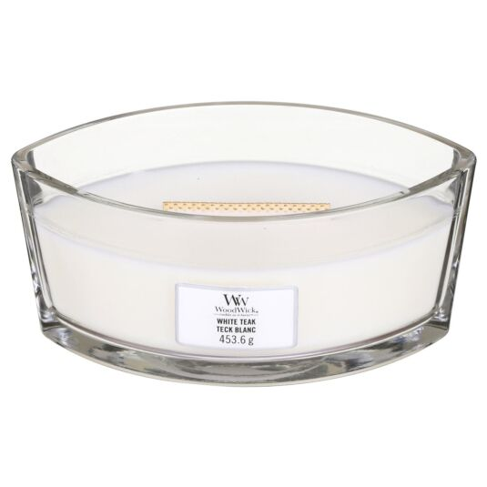 White Teak Hearthwick Ellipse Candle