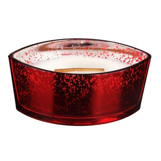 Hearthwick Oval Mercury Crimson Berries Candle