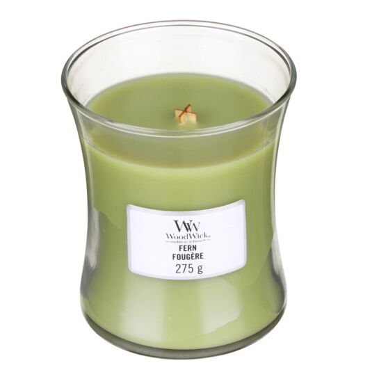 Fern Medium Hourglass Candle