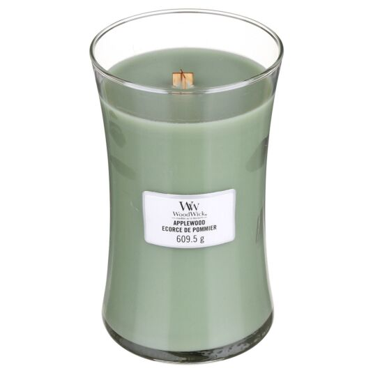 Applewood Large Hourglass Candle