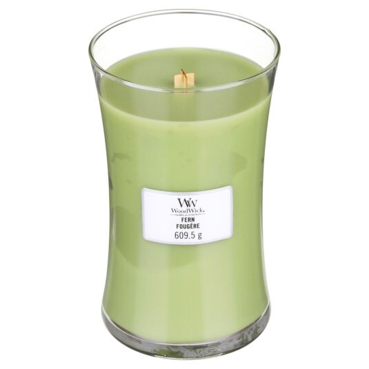 Fern Large Hourglass Candle