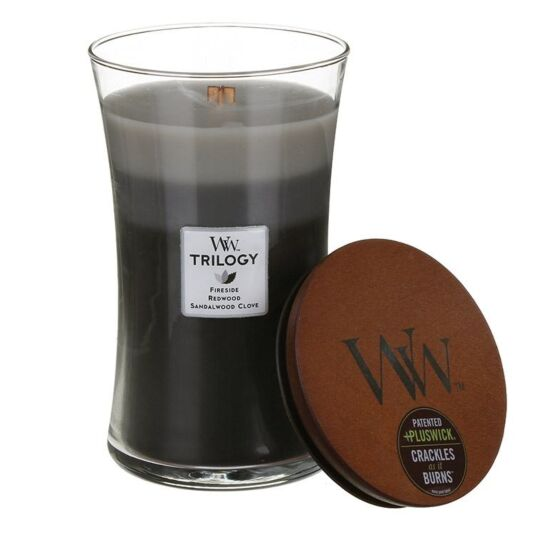 Warm Woods Large Trilogy Candle