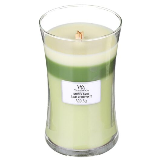 Garden Oasis Large Trilogy Candle
