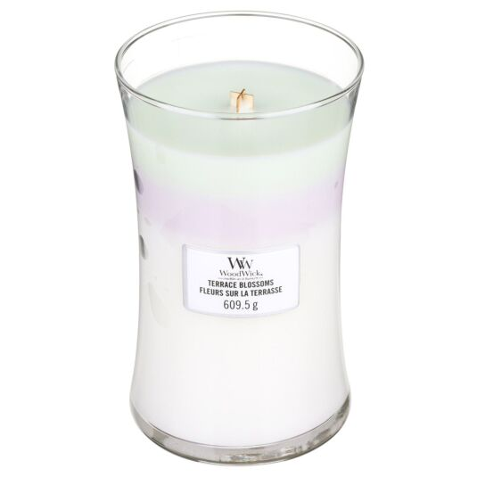 Terrace Blossoms Large Trilogy Candle