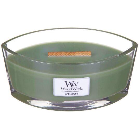Hearthwick Oval Applewood Candle
