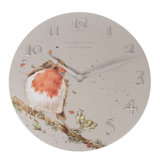 Robin Wall Clock