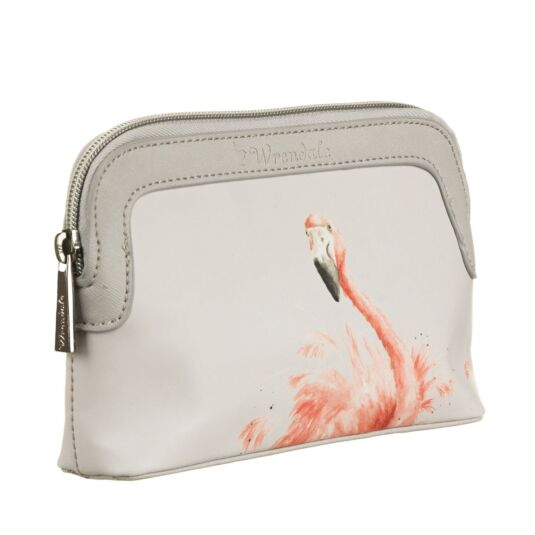 Flamingo Small Cosmetic Bag