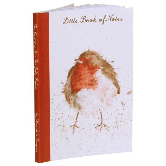 The Jolly Robin A6 Notebook