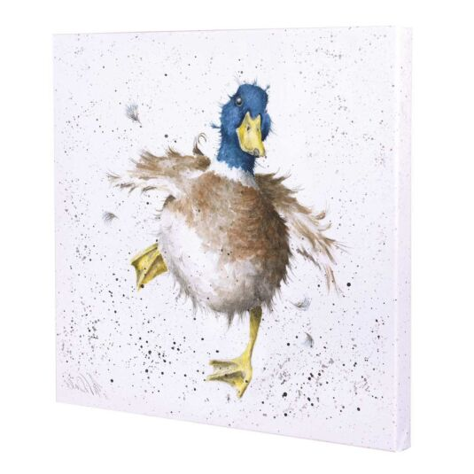 Waddle and Quack Wrendale Canvas by Hannah Dale