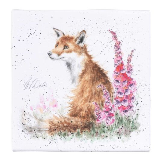 'Foxgloves' Small Canvas