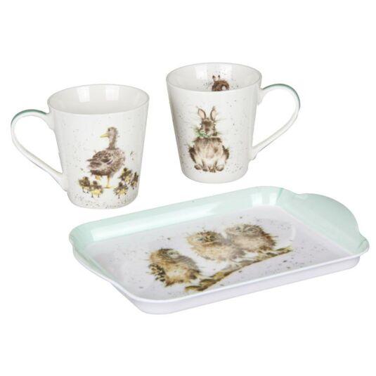 Mug and Tray Set