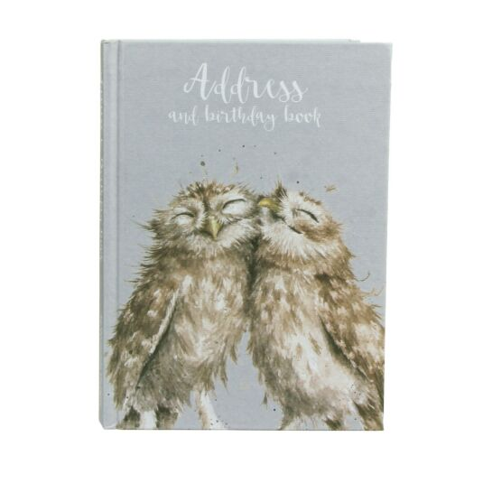 Owls Address & Birthday Book