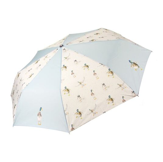 Nice Weather For Ducks Umbrella