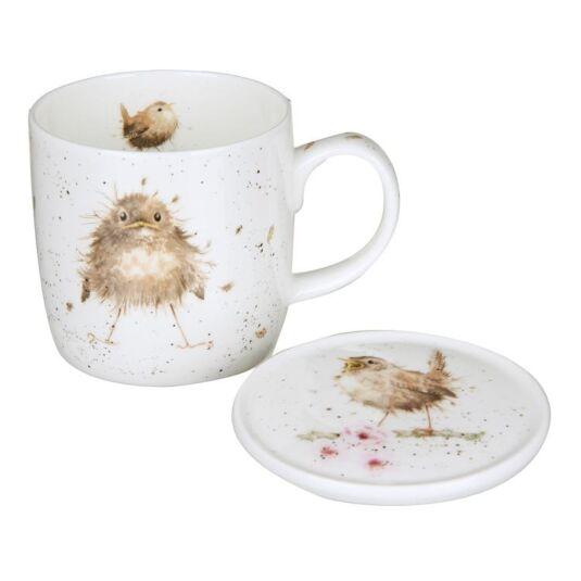 Flying The Nest Mug and Coaster Set