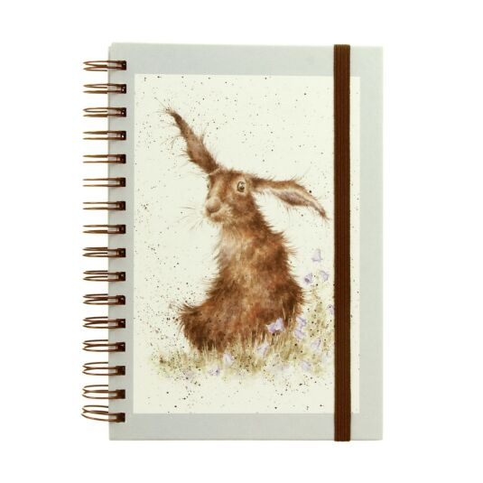 Hare Spiral Bound A5 Notebook