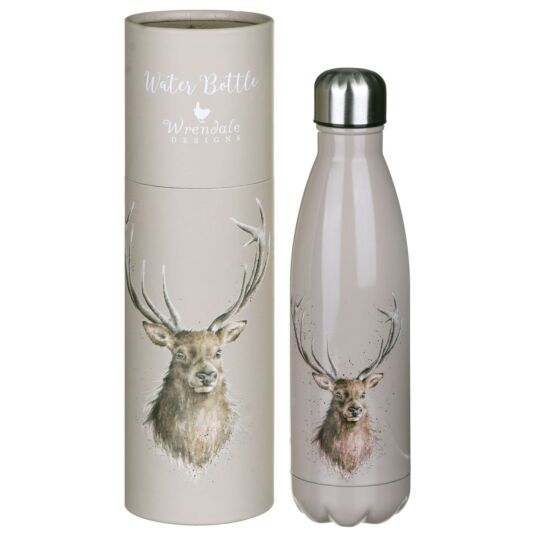 'Portrait of a Stag' Stag Water Bottle