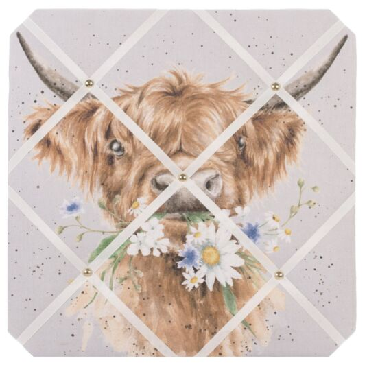 'Daisy Coo' Fabric Notice Board
