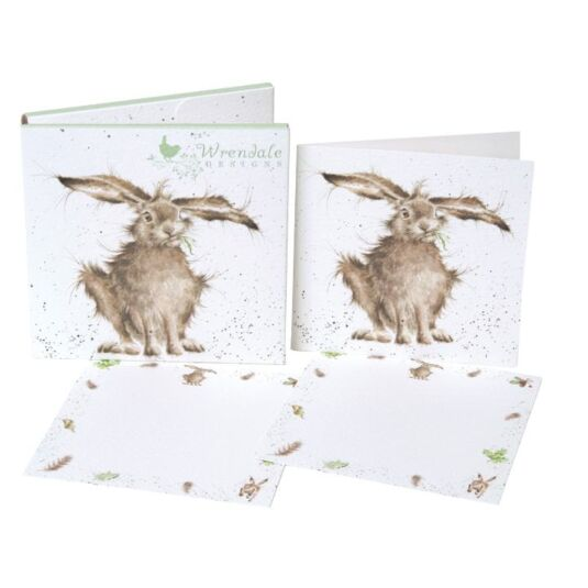 The Country Set Hare-Brained Notecard Pack