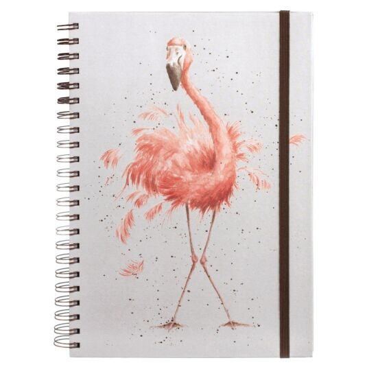 'Pretty In Pink' A4 Notebook