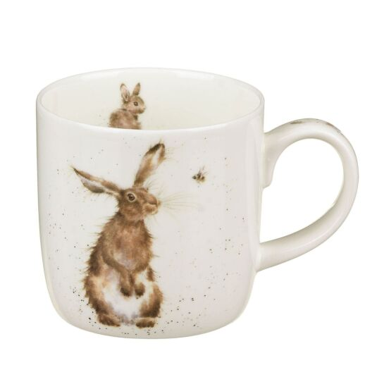 The Hare & Bee Fine China Mug